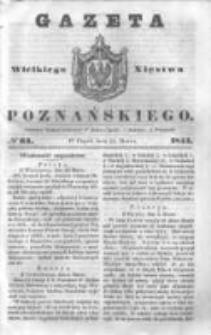 Gazeta Wielkiego Xięstwa Poznańskiego 1844.03.15 Nr64