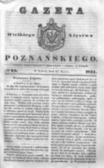 Gazeta Wielkiego Xięstwa Poznańskiego 1844.03.16 Nr65