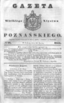 Gazeta Wielkiego Xięstwa Poznańskiego 1844.03.30 Nr77
