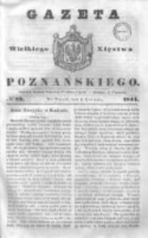 Gazeta Wielkiego Xięstwa Poznańskiego 1844.04.09 Nr83