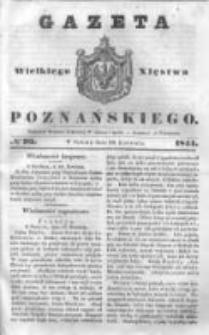 Gazeta Wielkiego Xięstwa Poznańskiego 1844.04.20 Nr93