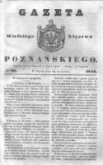 Gazeta Wielkiego Xięstwa Poznańskiego 1844.04.26 Nr98