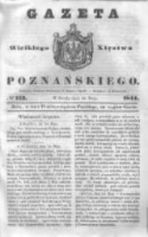 Gazeta Wielkiego Xięstwa Poznańskiego 1844.05.15 Nr113