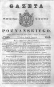 Gazeta Wielkiego Xięstwa Poznańskiego 1844.06.15 Nr138