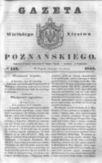 Gazeta Wielkiego Xięstwa Poznańskiego 1844.06.21 Nr143