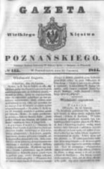 Gazeta Wielkiego Xięstwa Poznańskiego 1844.06.24 Nr145