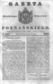 Gazeta Wielkiego Xięstwa Poznańskiego 1844.07.08 Nr157