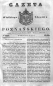 Gazeta Wielkiego Xięstwa Poznańskiego 1844.07.12 Nr161