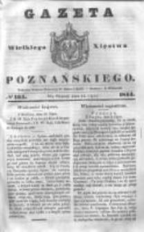 Gazeta Wielkiego Xięstwa Poznańskiego 1844.07.16 Nr164
