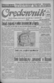 Orędownik: ilustrowany dziennik narodowy i katolicki 1938.11.09 R.68 Nr258