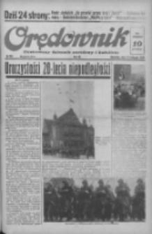 Orędownik: ilustrowany dziennik narodowy i katolicki 1938.11.13 R.68 Nr261