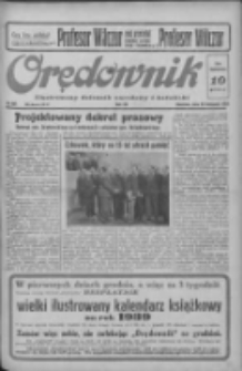 Orędownik: ilustrowany dziennik narodowy i katolicki 1938.11.20 R.68 Nr267