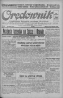 Orędownik: ilustrowany dziennik narodowy i katolicki 1938.11.29 R.68 Nr274