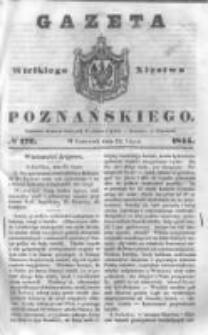 Gazeta Wielkiego Xięstwa Poznańskiego 1844.07.25 Nr172