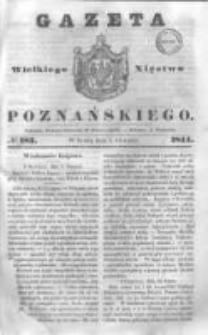 Gazeta Wielkiego Xięstwa Poznańskiego 1844.08.07 Nr183
