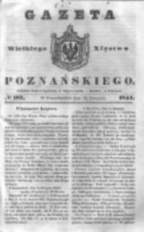 Gazeta Wielkiego Xięstwa Poznańskiego 1844.08.12 Nr187