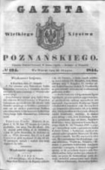 Gazeta Wielkiego Xięstwa Poznańskiego 1844.08.20 Nr194