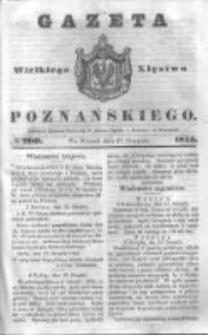 Gazeta Wielkiego Xięstwa Poznańskiego 1844.08.27 Nr200