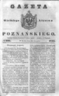 Gazeta Wielkiego Xięstwa Poznańskiego 1844.08.28 Nr201