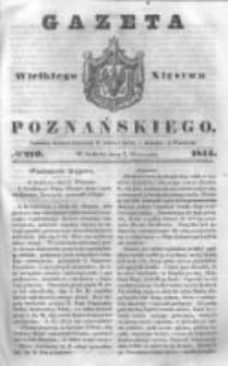 Gazeta Wielkiego Xięstwa Poznańskiego 1844.09.07 Nr210