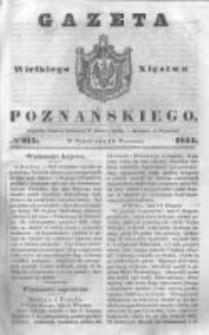 Gazeta Wielkiego Xięstwa Poznańskiego 1844.09.13 Nr215