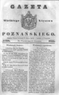 Gazeta Wielkiego Xięstwa Poznańskiego 1844.09.17 Nr218