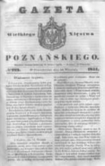 Gazeta Wielkiego Xięstwa Poznańskiego 1844.09.23 Nr223