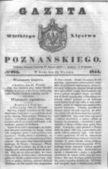 Gazeta Wielkiego Xięstwa Poznańskiego 1844.09.25 Nr225
