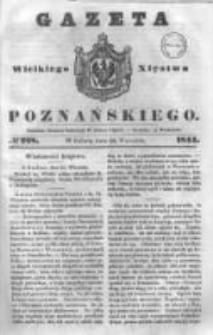 Gazeta Wielkiego Xięstwa Poznańskiego 1844.09.28 Nr228