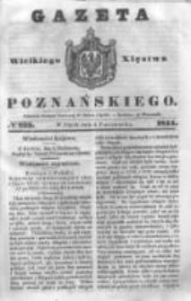 Gazeta Wielkiego Xięstwa Poznańskiego 1844.10.04 Nr233