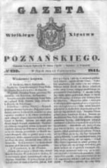 Gazeta Wielkiego Xięstwa Poznańskiego 1844.10.11 Nr239