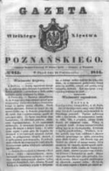 Gazeta Wielkiego Xięstwa Poznańskiego 1844.10.18 Nr245