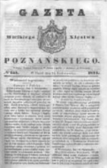 Gazeta Wielkiego Xięstwa Poznańskiego 1844.10.25 Nr251