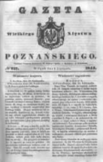 Gazeta Wielkiego Xięstwa Poznańskiego 1844.11.01 Nr257