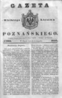 Gazeta Wielkiego Xięstwa Poznańskiego 1844.11.08 Nr263