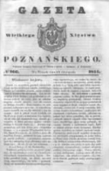 Gazeta Wielkiego Xięstwa Poznańskiego 1844.11.12 Nr266