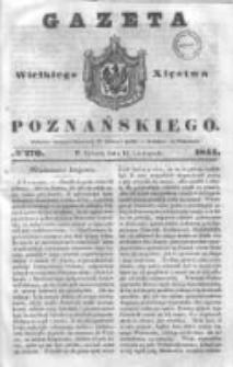 Gazeta Wielkiego Xięstwa Poznańskiego 1844.11.16 Nr270