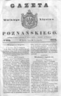 Gazeta Wielkiego Xięstwa Poznańskiego 1844.11.20 Nr273