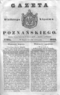 Gazeta Wielkiego Xięstwa Poznańskiego 1844.11.22 Nr275