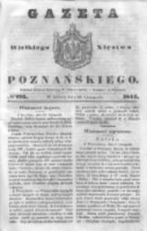 Gazeta Wielkiego Xięstwa Poznańskiego 1844.11.23 Nr276
