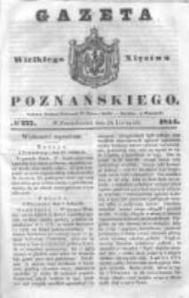 Gazeta Wielkiego Xięstwa Poznańskiego 1844.11.25 Nr277