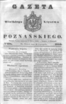 Gazeta Wielkiego Xięstwa Poznańskiego 1844.11.26 Nr278