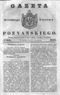 Gazeta Wielkiego Xięstwa Poznańskiego 1844.11.27 Nr279