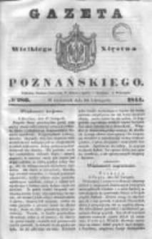Gazeta Wielkiego Xięstwa Poznańskiego 1844.11.28 Nr280