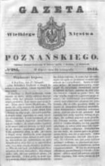 Gazeta Wielkiego Xięstwa Poznańskiego 1844.11.29 Nr281