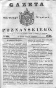 Gazeta Wielkiego Xięstwa Poznańskiego 1844.12.11 Nr291
