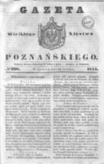 Gazeta Wielkiego Xięstwa Poznańskiego 1844.12.19 Nr298