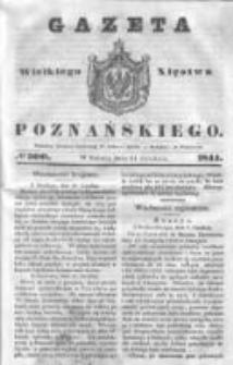 Gazeta Wielkiego Xięstwa Poznańskiego 1844.12.21 Nr300