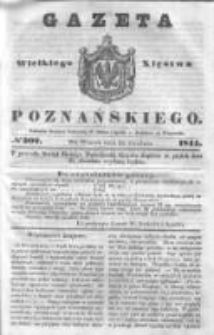 Gazeta Wielkiego Xięstwa Poznańskiego 1844.12.24 Nr302