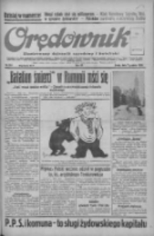 Orędownik: ilustrowany dziennik narodowy i katolicki 1938.12.07 R.68 Nr281